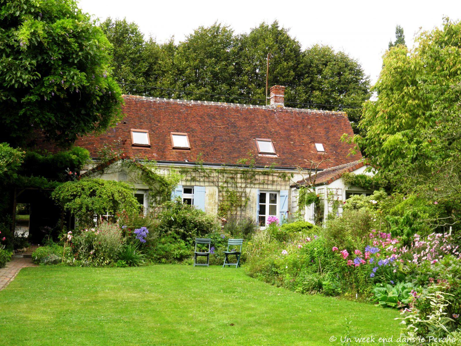 Un week end dans le perche jardin de la petite rochelle - Petit jardin zen interieur la rochelle ...