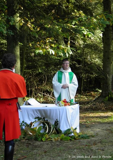 Etoile du Perche : Messe de la Saint Hubert