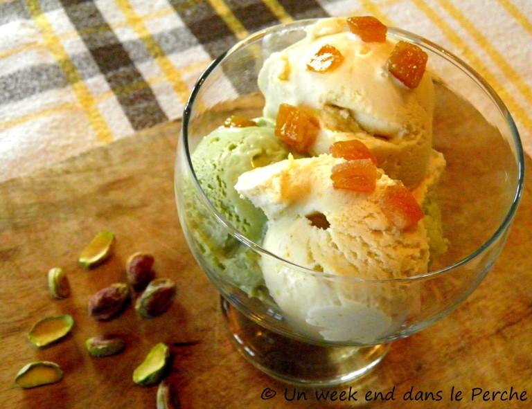 Glaces Artisanales R10 : Crema et Pistache